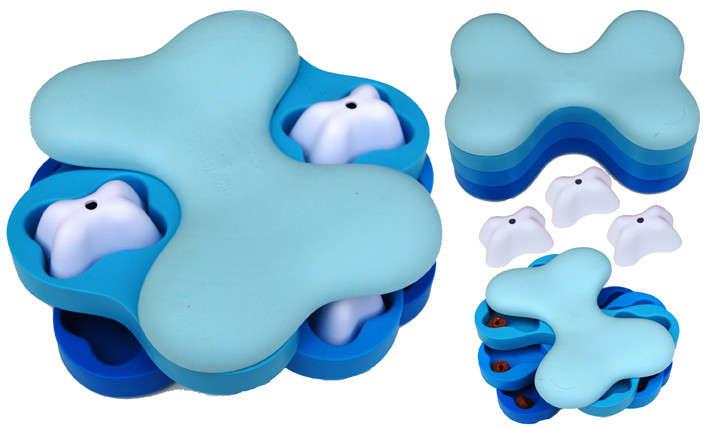 Nina Ottosson Dog Tornado Plast, Azul