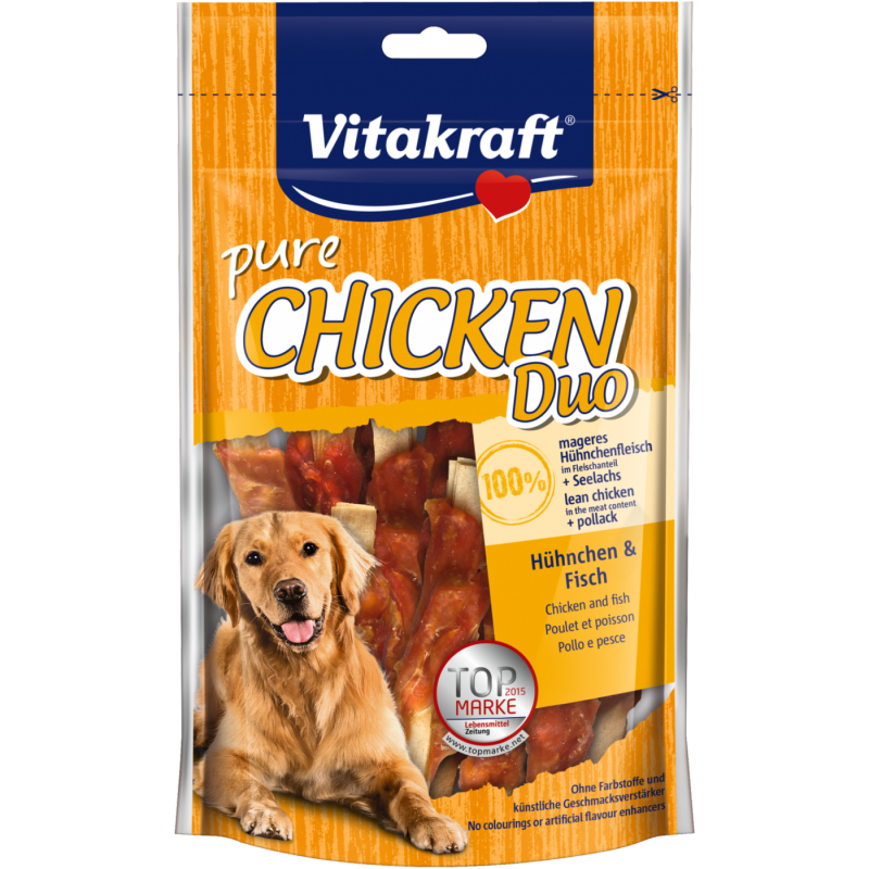 Vitakraft Chicken Duo - Pollo e Pesce 80 g