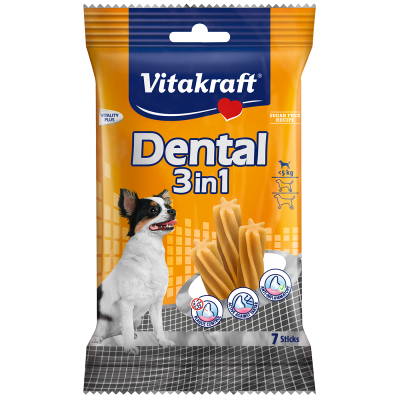 Vitakraft Dental 3in1 XS 70 g 4008239309143 opiniones