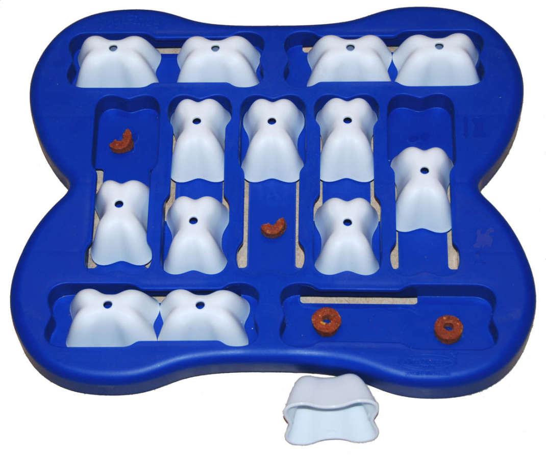 Nina Ottosson Dog Finder Plastic Azul
