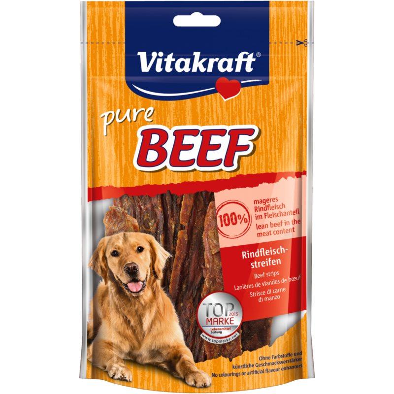 Vitakraft BEEF Beef Stripes 80 g, 250 g