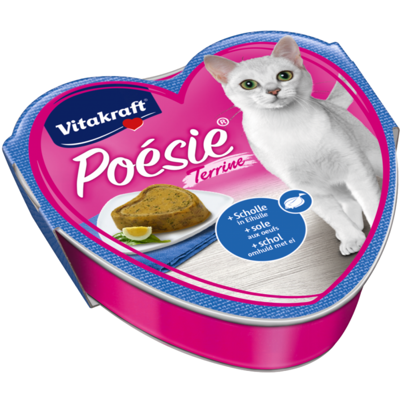 Vitakraft Poésie + Plaice in Egg Wraping 85 g test