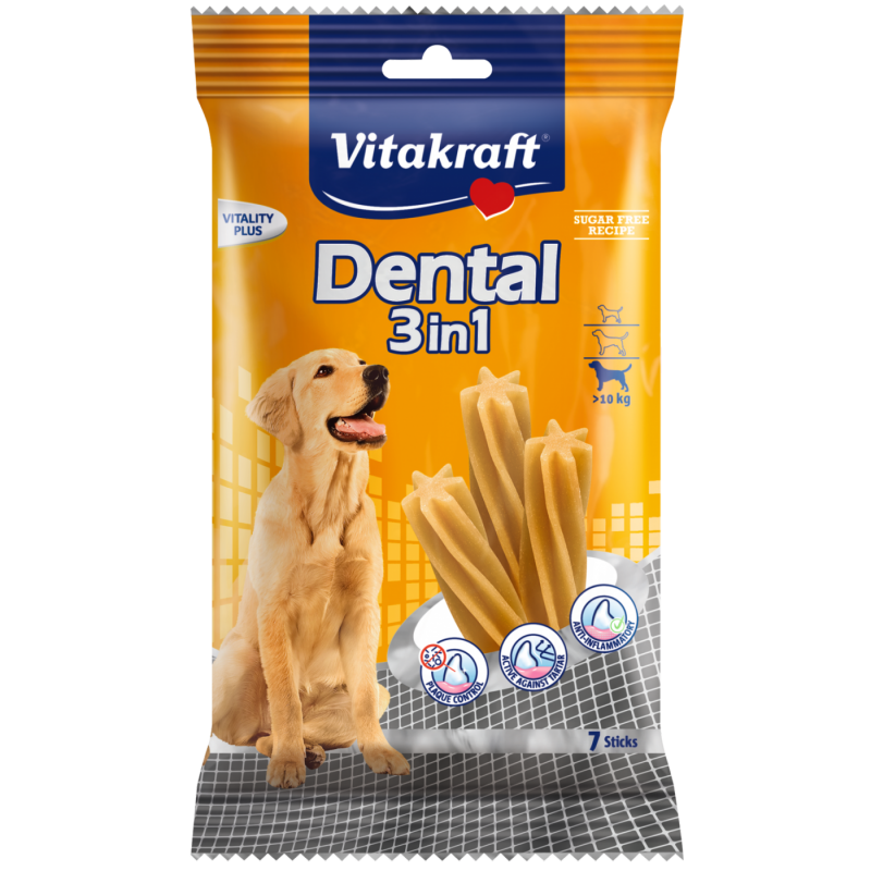 Vitakraft Dental 3 in1, Medium 180 g