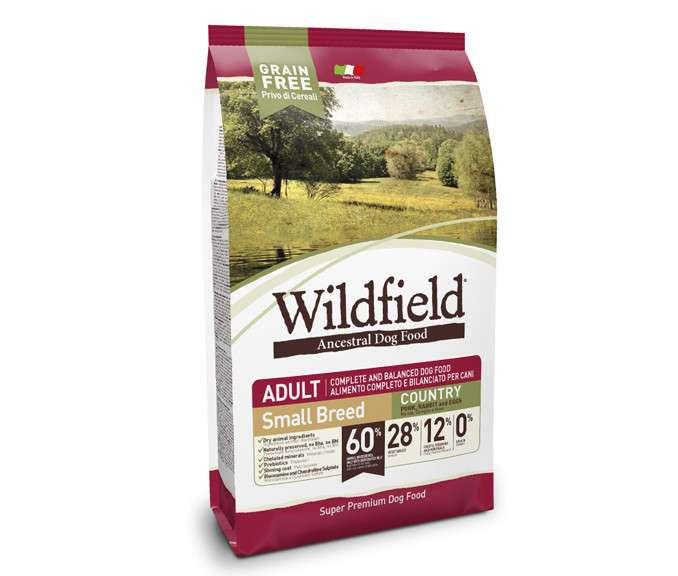Wildfield Adult Country Small com Porco, Coelho e Ovos 2 kg