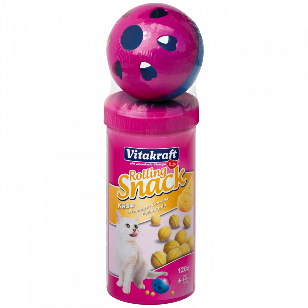 Vitakraft Rolling Snack Cheese + Ball 135 g