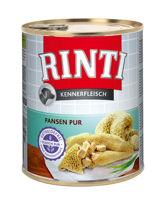 Rinti Gourmet Meat Rumen Pur EAN: 4000158910424 reviews