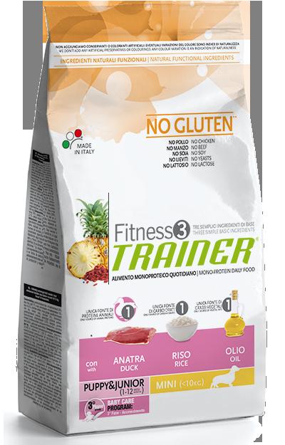 Nova Foods Fitness3 Trainer - Puppy&Junior Medium/Maxi con Pato, Arroz & Aceite 12.5 kg 8059149006581 opiniones