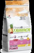 Fitness3 Trainer - Puppy&Junior Medium/Maxi with Duck, Rice & Oil - EAN: 8059149006581