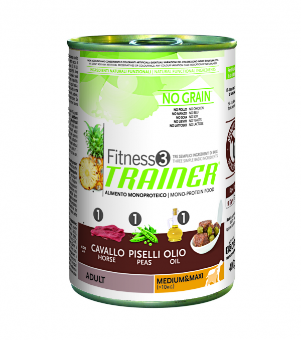 Nova Foods Fitness3 Trainer Wet - Adult Medium/Maxi 400 g