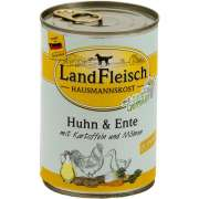 Hausmannskost Junior Chicken & Duck with Potato and Carrot Can 400 g