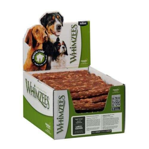 Whimzees Display Veggie Sausage XL 30 Piezas