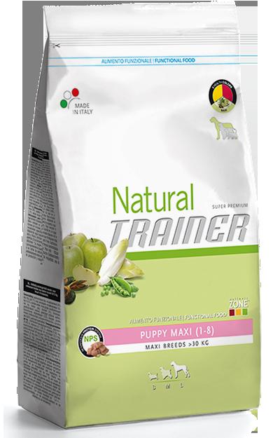 Nova Foods Natural Trainer - Puppy Maxi (1-8 Meses) 12.5 kg