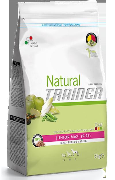 Nova Foods Natural Trainer - Puppy Maxi (9-24 Meses) 12.5 kg