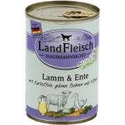 Hausmannskost Agneau, Canard avec Pommes de terre, Haricots verts et Carottes Boîte 400 g