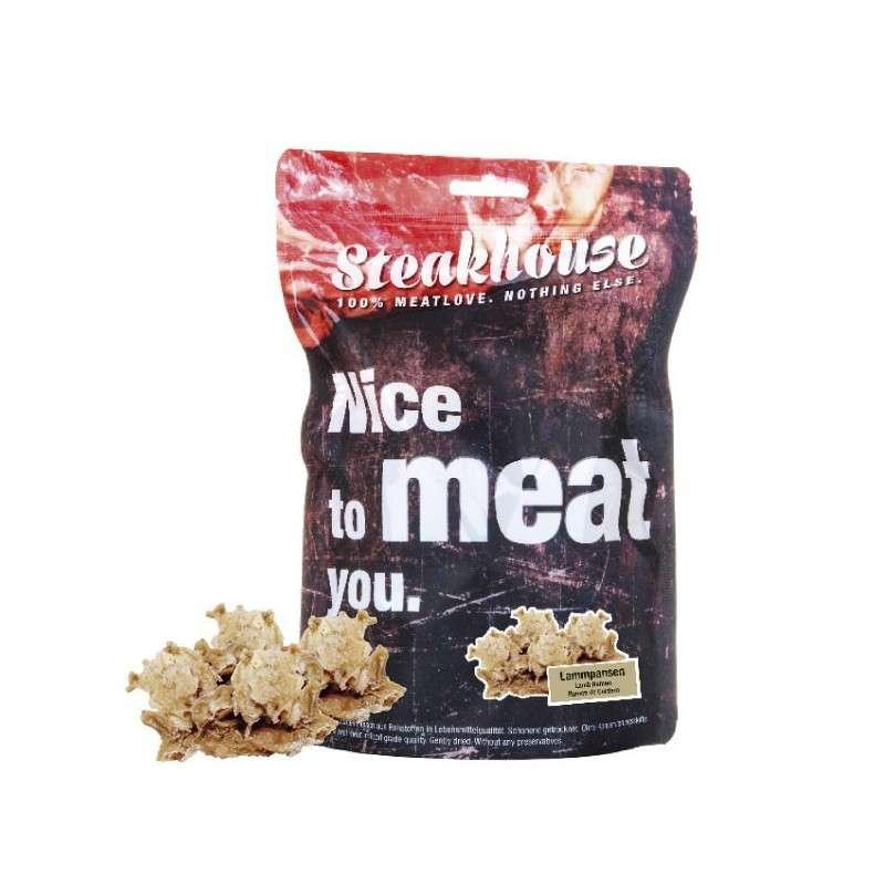 Fleischeslust Steakhouse - Snack Rumen de Cordero Secado al Vacío 100 g