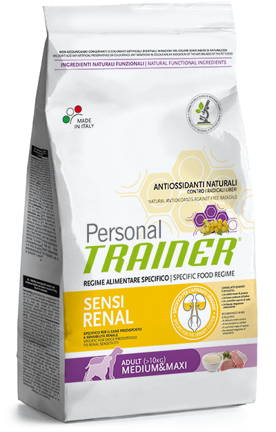 Nova Foods Personal Trainer - Adult Medium - Maxi Sensirenal 12.5 kg