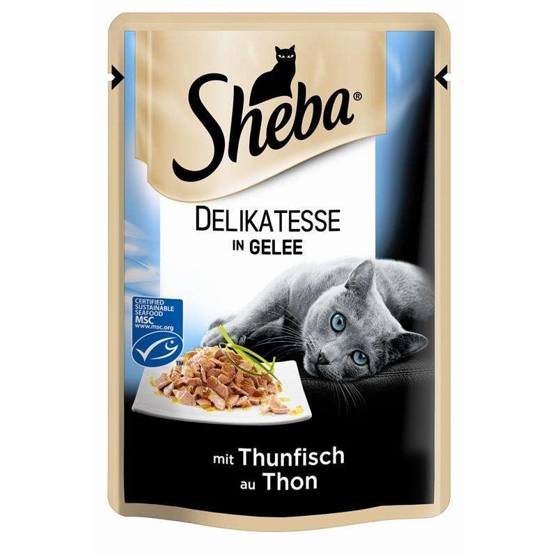 Sheba Delicate Jelly - Tonnikalaa 85 g
