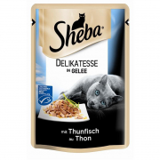 Sheba Pouch Delicacy with Tuna in Jelly 85 g