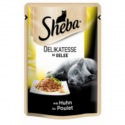 Sheba Pouch Delicacy with Chicken in Jelly 85 g
