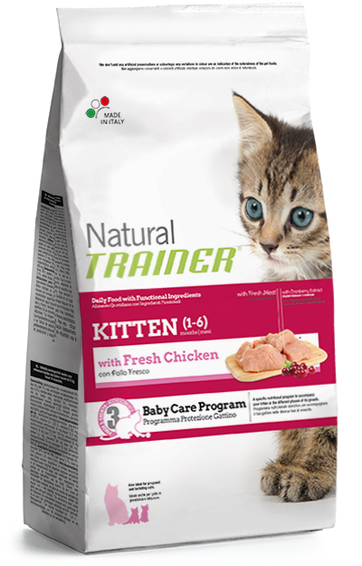 Nova Foods Natural Trainer Cat - Kitten with fresh Chicken 7.5 kg 8059149029580 anmeldelser