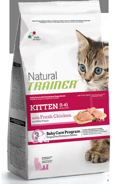 Nova Foods Natural Trainer Cat - Gatito con Pollo Fresco 7.5 kg 8059149029580 opiniones