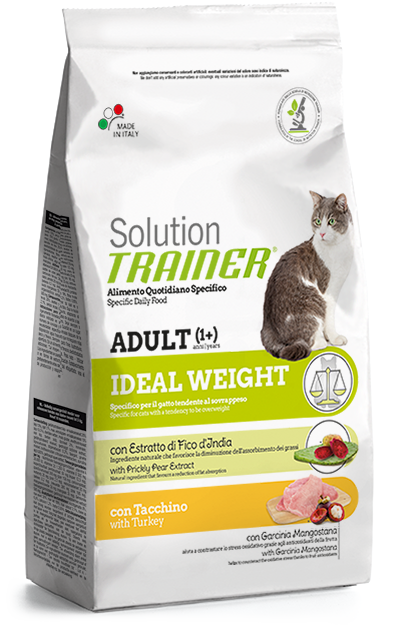Nova Foods Solution Trainer Cat  - Adult Ideal Weight con Pavo 1.50 kg