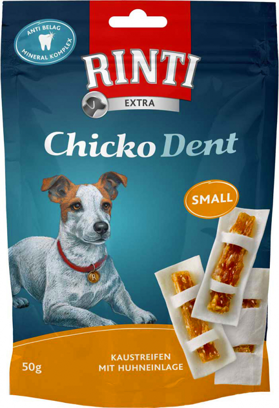 Rinti Chicko Dent Kip Small 50 g, 150 g