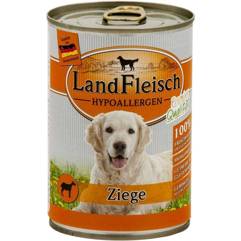 Stomach & Digestion Hypoallergen Goat Can 400 g  by Landfleisch Buy fair and favorable with a discount