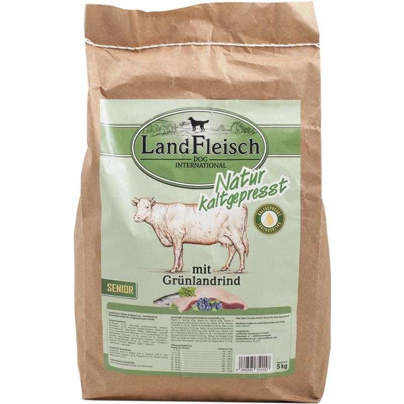 Landfleisch Naturaleza Prensado en Frio Senior con Pastizales de Ganado 5 kg, 15 kg
