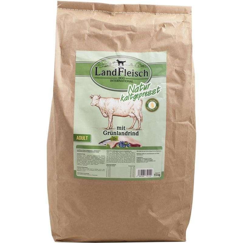 Landfleisch Natural Prensado en Frio Adulto con Pastizales de Ganado 15 kg 4260395750140 opiniones
