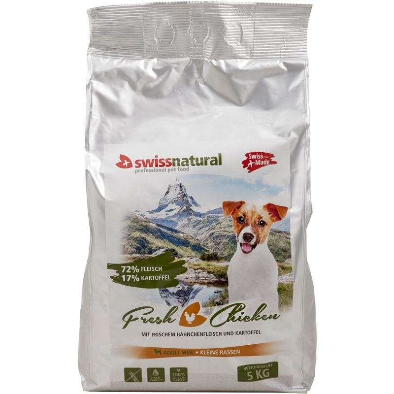 Swiss Natural Fresh Dog Mini Adult Chicken 5 kg