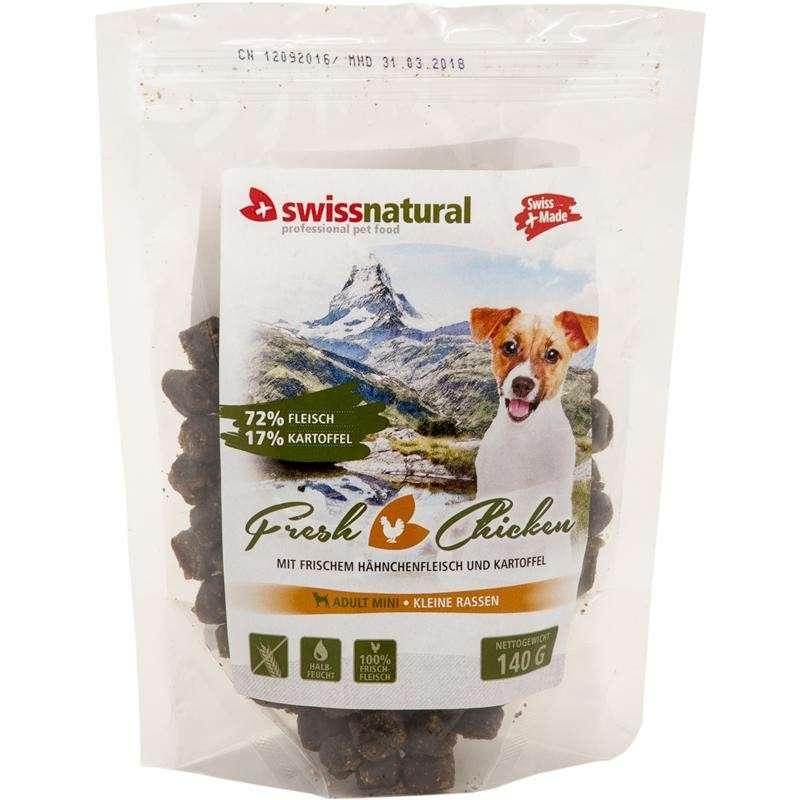 Swiss Natural Fresh Dog Mini Adult Chicken 140 g 7640118291049 opiniones
