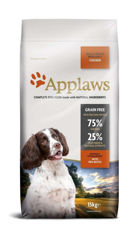 Applaws Adult Small & Medium Breed mit Huhn 15 kg
