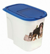 4Cats Pet Food Keeper Basic, White 2.2 l