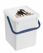 Pet Food Box, White 7 l