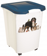 Pet Food Container Hvit