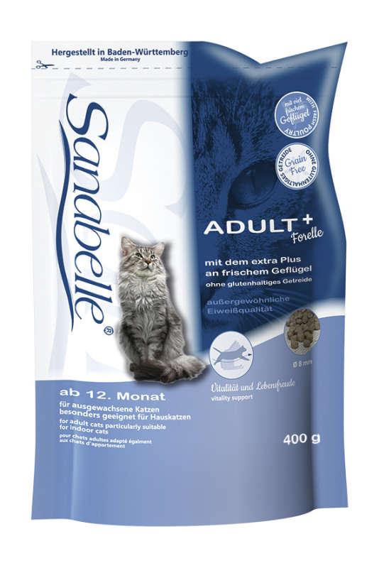 Sanabelle Adult met forel 400 g 4015598009874