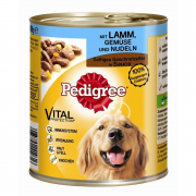 Pedigree Juicy Slices Lamb, Vegetables and Pasta 800 g