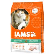 Iams Hairball Control Poulet 10 kg  à bas prix en ligne - Nourriture et compléments alimentaires contre boules de poils pour chats