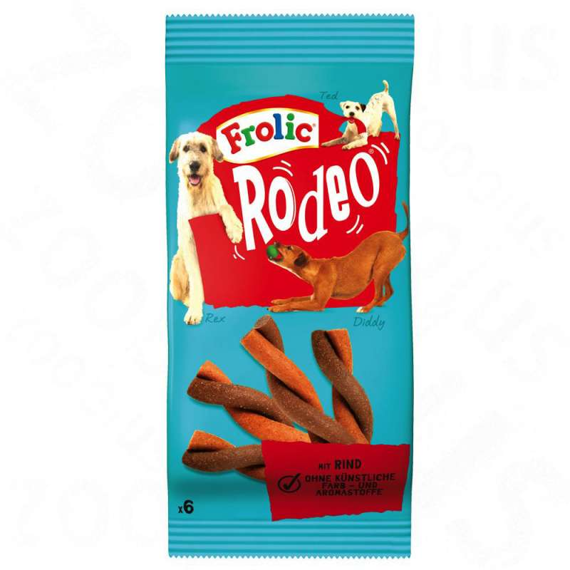 Frolic Rodeo with Beef 105 g, 140 g