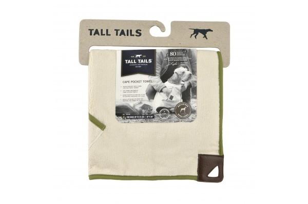 Tall Tails Toalha para Cães - Creme e Salvia  Bege 68x68 cm