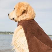Adventure Cape Towel, Brown 68x68 cm