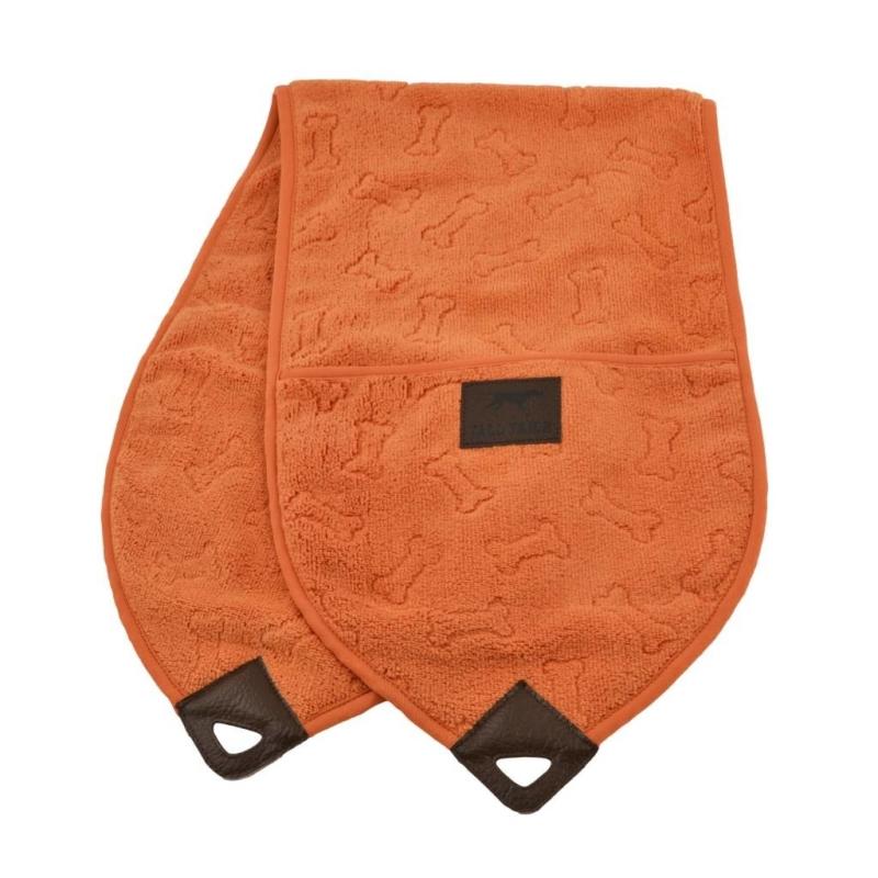 Tall Tails Toalha Pocket Towel  Laranja 25x91 cm