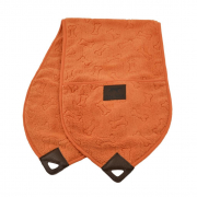 Serviette de poche Orange