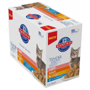 Hill's Science Plan Feline - Multipack Adult Light with Chicken & Ocean Fish 12x85 g