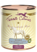 Terra Canis Classic Meals, Horse Meat with Amaranth, Peach & Beetroots 800 g