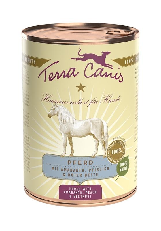 Terra Canis Classic Menu, Paard met Amaranth, Perzik en Rode Biet 200 g, 800 g, 400 g
