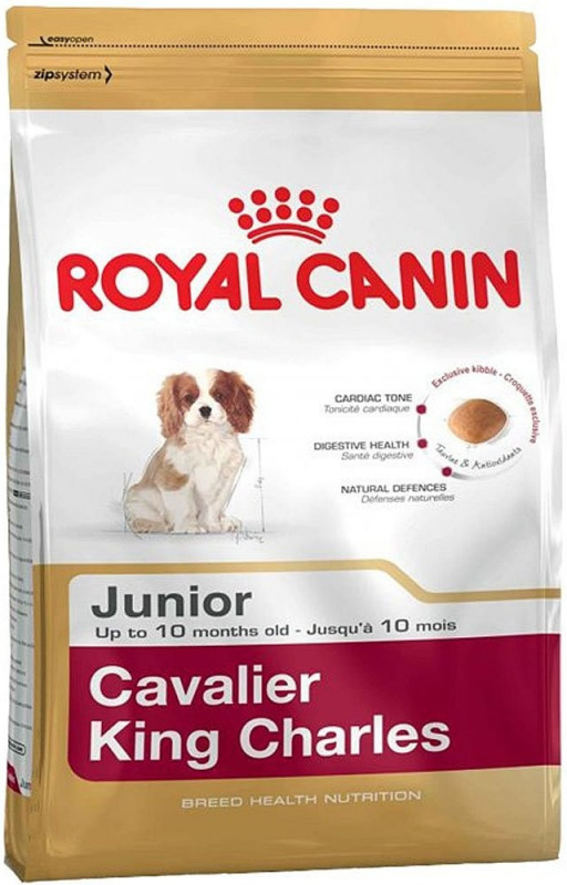 Royal Canin Breed Health Nutrition Cavalier King Charles Junior 1.5 kg 3182550813051 anmeldelser