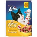 Felix Crunchy & Soft Huhn, Truthahn und Gemüsezugabe 950 g