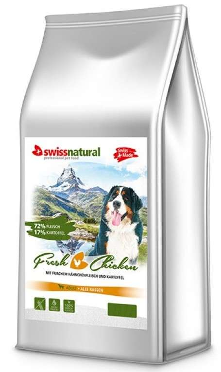 Swiss Natural Adult Fresh Chicken 5 kg, 15 kg, 140 g, 1 kg